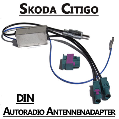 skoda citigo antennenadapter mit antennendiversity din Skoda Citigo Antennenadapter mit Antennendiversity DIN Skoda Citigo Antennenadapter mit Antennendiversity DIN
