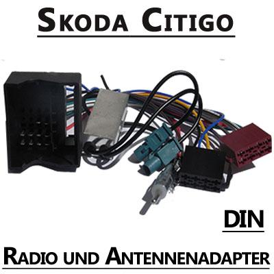 Skoda Citigo Radio Adapterkabel mit Antennen Diversity DIN Skoda Citigo Radio Adapterkabel mit Antennen Diversity DIN Skoda Citigo Radio Adapterkabel mit Antennen Diversity DIN