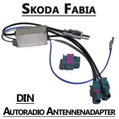 Skoda Fabia Antennenadapter mit Antennendiversity DIN Skoda Fabia Antennenadapter mit Antennendiversity DIN Skoda Fabia Antennenadapter mit Antennendiversity DIN