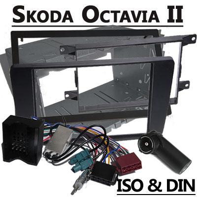 Skoda Octavia Radioeinbauset 2 DIN mit Antennen Diversity Skoda Octavia Radioeinbauset 2 DIN mit Antennen Diversity Skoda Octavia Radioeinbauset 2 DIN mit Antennen Diversity