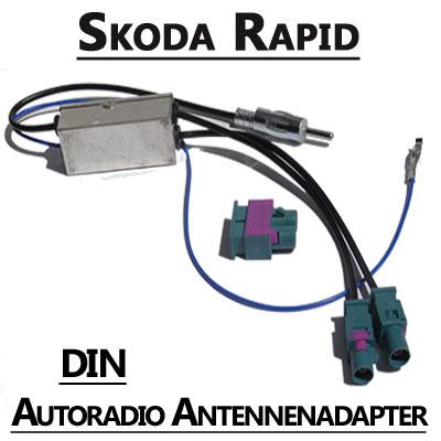 Skoda Rapid Antennenadapter mit Antennendiversity DIN Skoda Rapid Antennenadapter mit Antennendiversity DIN Skoda Rapid Antennenadapter mit Antennendiversity DIN