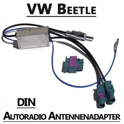 vw beetle antennenadapter mit antennendiversity din VW Beetle Antennenadapter mit Antennendiversity DIN VW Beetle Antennenadapter mit Antennendiversity DIN