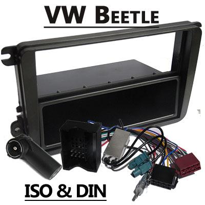 VW Beetle Autoradio Einbauset mit Antennen Diversity VW Beetle Autoradio Einbauset mit Antennen Diversity VW Beetle Autoradio Einbauset mit Antennen Diversity