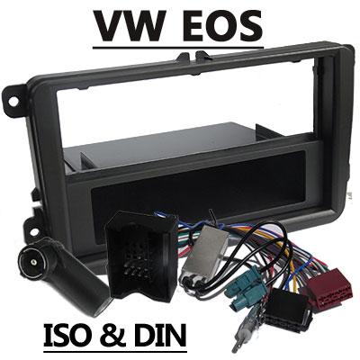 VW EOS Autoradio Einbauset mit Antennen Diversity VW EOS Autoradio Einbauset mit Antennen Diversity VW EOS Autoradio Einbauset mit Antennen Diversity