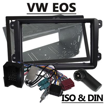 VW EOS Radioeinbauset 2 DIN mit Antennen Diversity VW EOS Radioeinbauset 2 DIN mit Antennen Diversity VW EOS Radioeinbauset 2 DIN mit Antennen Diversity