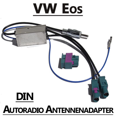 VW Eos Antennenadapter mit Antennendiversity DIN VW Eos Antennenadapter mit Antennendiversity DIN VW Eos Antennenadapter mit Antennendiversity DIN