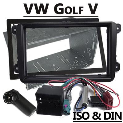vw golf v autoradio einbauset doppel din VW Golf V Autoradio Einbauset Doppel DIN VW Golf V Autoradio Einbauset Doppel DIN