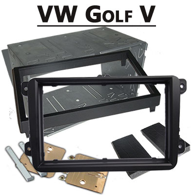 VW-Golf-V-Doppel-DIN-Radioblende