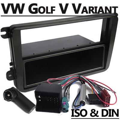 VW Golf V Variant Autoradio Einbauset 1 DIN mit Fach VW Golf V Variant Autoradio Einbauset 1 DIN mit Fach VW Golf V Variant Autoradio Einbauset 1 DIN mit Fach