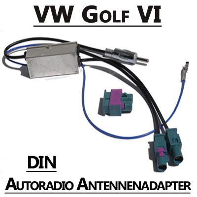 VW Golf VI Antennenadapter mit Antennendiversity DIN VW Golf VI Antennenadapter mit Antennendiversity DIN VW Golf VI Antennenadapter mit Antennendiversity DIN