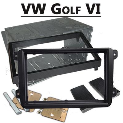 VW-Golf-VI-Doppel-DIN-Radioblende