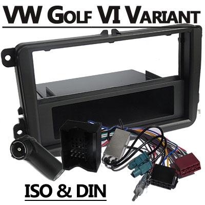 VW Golf VI Variant Autoradio Einbauset mit Antennen Diversity VW Golf VI Variant Autoradio Einbauset mit Antennen Diversity VW Golf VI Variant Autoradio Einbauset mit Antennen Diversity