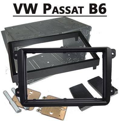 VW-Passat-B6-Doppel-DIN-Radioblende