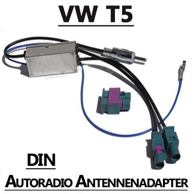 VW T5 Antennenadapter mit Antennendiversity DIN VW T5 Antennenadapter mit Antennendiversity DIN VW T5 Antennenadapter mit Antennendiversity DIN