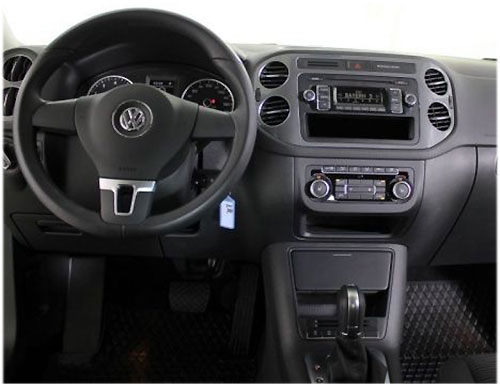 vw tiguan autoradio einbauset 1 din mit fach. Black Bedroom Furniture Sets. Home Design Ideas