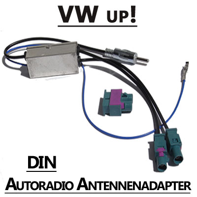 VW up! Antennenadapter mit Antennendiversity DIN VW up! Antennenadapter mit Antennendiversity DIN VW up Antennenadapter mit Antennendiversity DIN