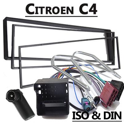 Citroen C4 Radioeinbauset mit Radio und Antennenadapter Citroen C4 Radioeinbauset mit Radio und Antennenadapter Citroen C4 Radioeinbauset mit Radio und Antennenadapter