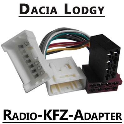 Dacia-Lodgy-Autoradio-Anschlusskabel