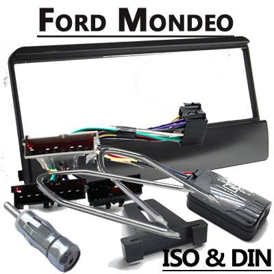 Ford-Mondeo-Lenkradfernbedienung-mit-Radio-Einbauset