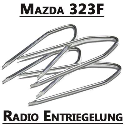 Mazda-323-Autoradio-Entriegelung