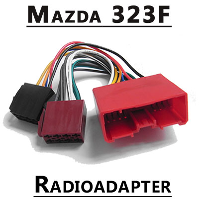 Mazda-323F-Autoradio-Anschlusskabel