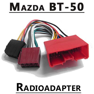 Mazda-BT-50-Autoradio-Anschlusskabel
