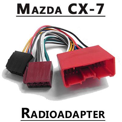 Mazda-CX-7-Autoradio-Anschlusskabel