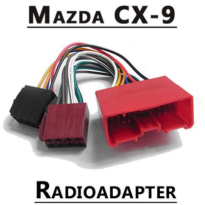 Mazda-CX-9-Autoradio-Anschlusskabel