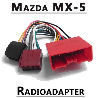 Mazda MX-5 Typ NC Autoradio Anschlusskabel Mazda MX-5 Typ NC Autoradio Anschlusskabel Mazda MX 5 Typ NC Autoradio Anschlusskabel