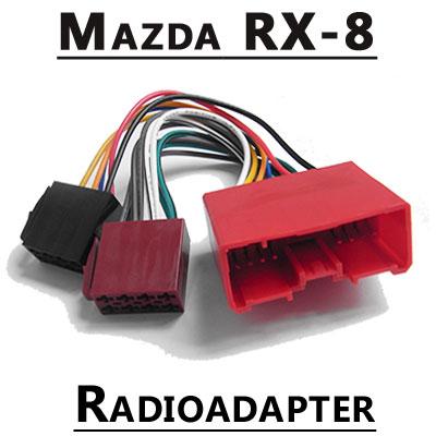 Mazda RX-8 Autoradio Anschlusskabel Mazda RX-8 Autoradio Anschlusskabel Mazda RX 8 Autoradio Anschlusskabel