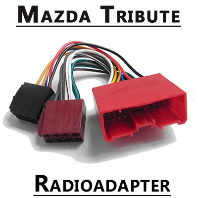Mazda-Tribute-Autoradio-Anschlusskabel