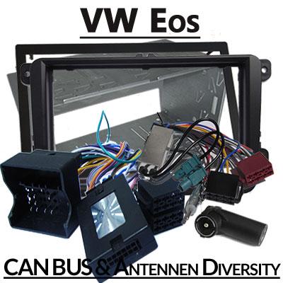 VW Eos Lenkradfernbedienung 2 DIN Einbauset und Antennen Diversity VW Eos Lenkradfernbedienung 2 DIN Einbauset und Antennen Diversity VW Eos Lenkradfernbedienung 2 DIN Einbauset und Antennen Diversity