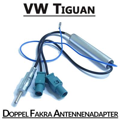VW-Tiguan-Doppel-Fakra-Antennenadapter