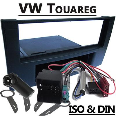 VW-Touareg-Autoradio-Einbauset-mit-Fach