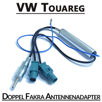 VW-Touareg-Doppel-Fakra-Antennenadapter