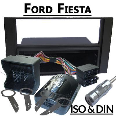 Ford-Fiesta-Lenkradfernbedienung-mit-Radio-Einbauset