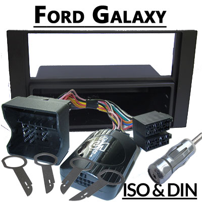 Ford-Galaxy-WA6-Radioeinbauset-für-Lenkradfernbedienung-schwarz