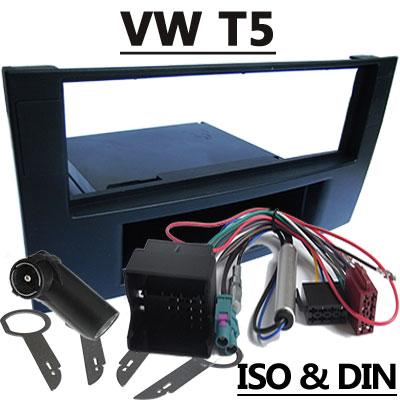 VW T5 Autoradio Einbauset mit Fach VW T5 Autoradio Einbauset mit Fach VW T5 Autoradio Einbauset mit Fach