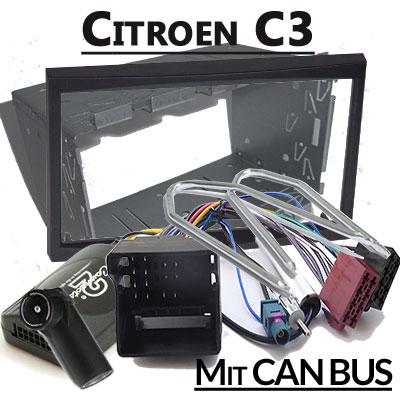 citroen c3 lenkradfernbedienung mit 2 din autoradio einbauset Citroen C3 Lenkradfernbedienung mit 2 DIN Autoradio Einbauset Citroen C3 Lenkradfernbedienung mit 2 DIN Autoradio Einbauset