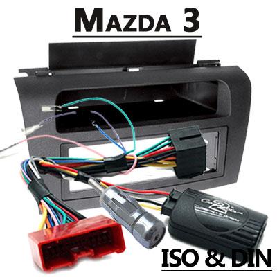 Mazda 3 Lenkradfernbedienung mit 1 DIN Radioeinbauset Mazda 3 Lenkradfernbedienung mit 1 DIN Radioeinbauset Mazda 3 Lenkradfernbedienung mit 1 DIN Radioeinbauset