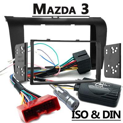 mazda 3 lenkradfernbedienung mit 2 din autoradio einbauset Mazda 3 Lenkradfernbedienung mit 2 DIN Autoradio Einbauset Mazda 3 Lenkradfernbedienung mit 2 DIN Autoradio Einbauset