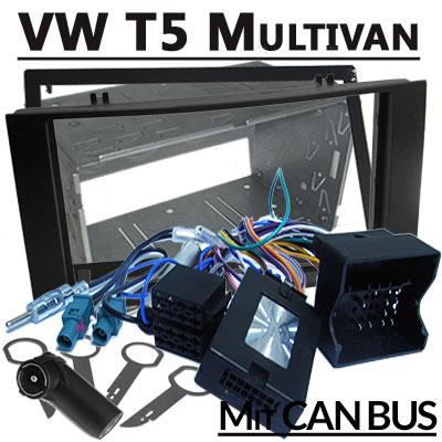 VW T5 mit Delta Radio Lenkradfernbedienung Radioeinbauset 1 DIN VW T5 Multivan mit Lenkradfernbedienung Radioeinbauset 2 DIN VW T5 Multivan mit Lenkradfernbedienung Radioeinbauset 2 DIN